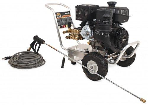 Mi-T-M CA-4004-1MAK CA Aluminum Series Cold Water Direct Drive, 429cc Kohler OHV Gasoline Engine, 4000 PSI Pressure Washer