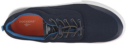 Dokwerkers Heren Rietschoen Mode Sneaker Marine / Blauw