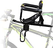 SXZHSM Bicycle Baby Kids Child Front Mount Seat USA Safely Carrier with Handrail, Kids Bike Seat for Mountain