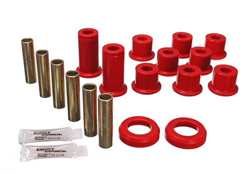 - Energy Suspension 3-2129R Leaf Spring Bushing kit