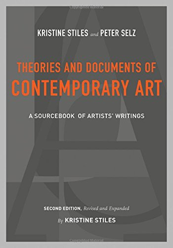 Theories+Documents Of Contemporary Art