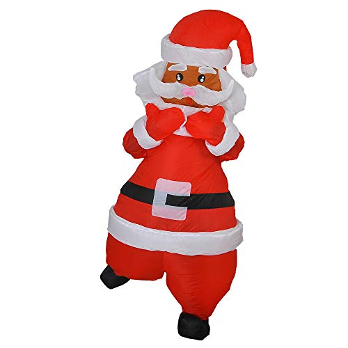 RHYTHMARTS Inflatable Christmas Costume Adult Fancy Dress Cosplay Party Clothes (Cartoon -