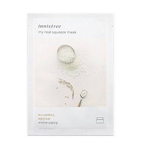 """Innisfree My Real Squeeze Mask Sheet 18 types 20m x 5 pcs """""""
