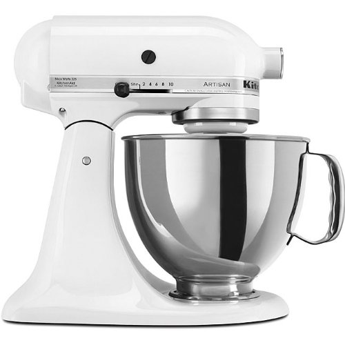 KitchenAid RRK150WH  5 Qt. Artisan Series - White (Certified Refurbished)