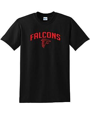 Atlanta Falcons T-shirt Red Logo Tee for Falcons Fans