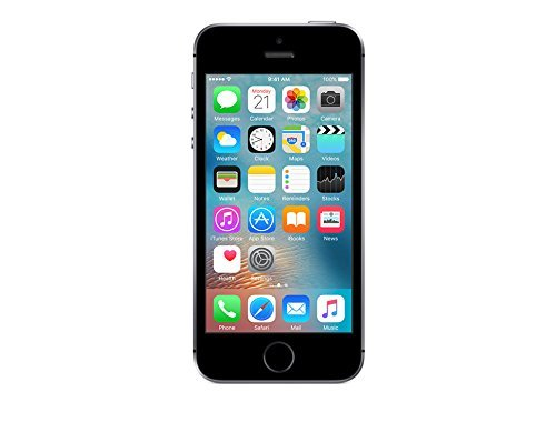 Apple iPhone SE, GSM Unlocked, 64GB - Space Gray (Renewed) (Unlocked I Mobile T Phone 5)