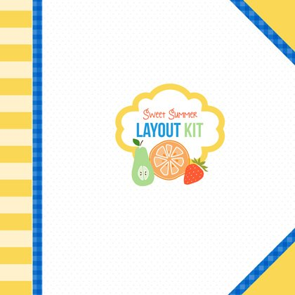 Sweet Summer Layout Kit by Youngevity