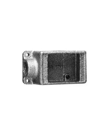 Crouse-Hinds FD2 SA Copper-Free Condulet Single Gang Cast Device Box, 3/4-Inch ()