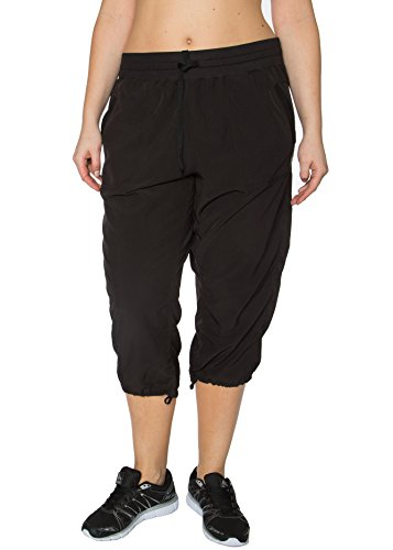 RBX Active Women's Plus Size Lightweight Body Skimming Drawstring Zumba Pant