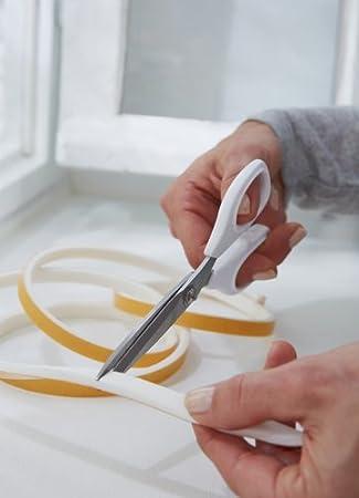 10m x 9mm einfache Qualit/ät tesamoll Schaumstoffdichtung f/ür Fenster und T/üren