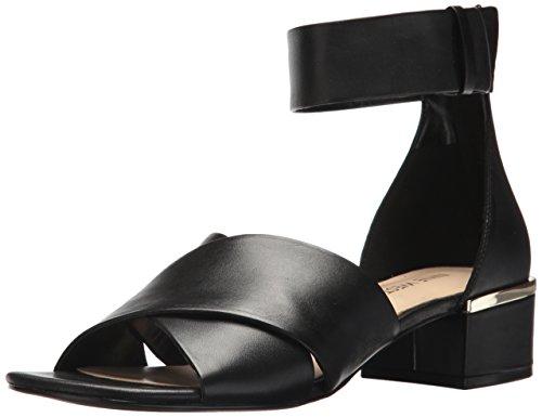Neun Leather Westen Leather Sandal Womens Yesterday Black q77dtrO