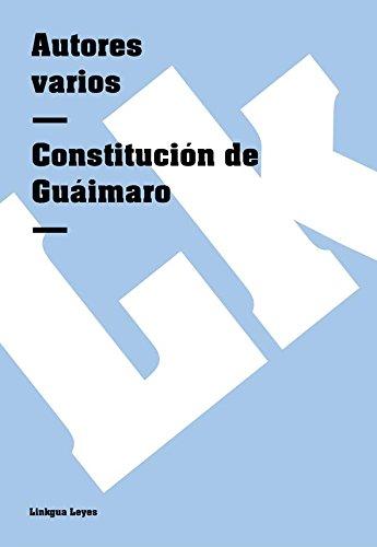Descargar Libro Constitución De Guáimaro Autores Varios