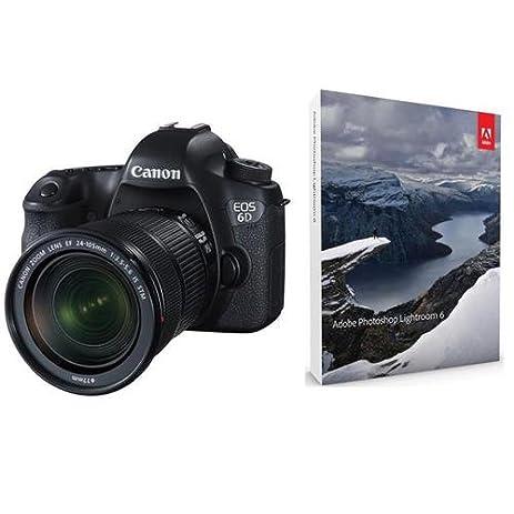 Amazon Canon Eos 6d Digital Slr Camera Kit With Ef 24 105mm F3