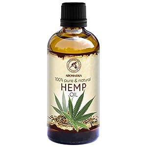 Hemp Oil 100ml – Cannabis Sativa Seed Oil &#...