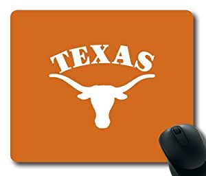 Texas Longhorns Football Rectangle Mouse Pad by eeMuse by mcsharks