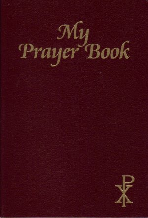 My Prayer Book Brown Satinflex