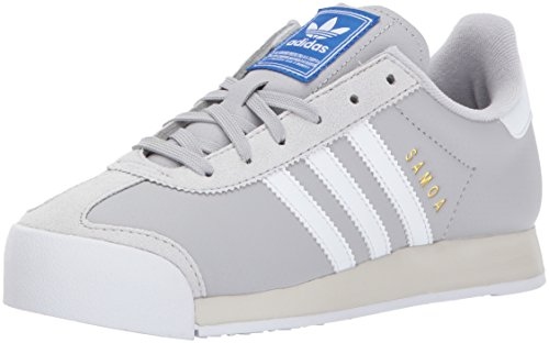 adidas Originals Women's Shoes | Samoa Sneakers, Grey Two/White/Talc, (6.5 M US)