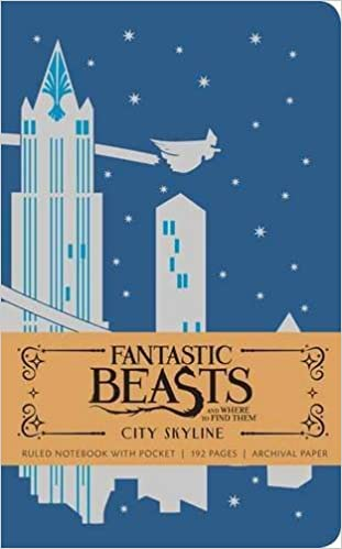 fantastic beasts and where to find them city skyline hardcover ruled notebook insights journals