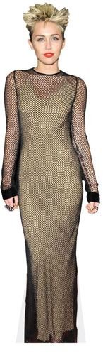 Miley Cyrus (Rock) Life Size - Cyrus Proof Miley