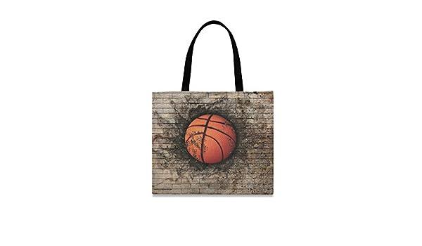 LUPINZ - Bolso de lona para mujer con diseño de balón de ...