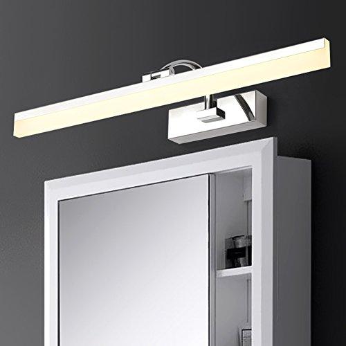 Mirror light XUERUI LED Lamp, 9W-16W Warm White Bathroom Lights, EMC Driver, 40-70CM X 7CM X 4.5cm, Energy Savin (Color : Warm white, Size : 40CM) by Mirror light (Image #2)