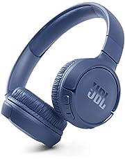 JBL Tune 510BT Wireless On-Ear Bluetooth Headphones - Blue