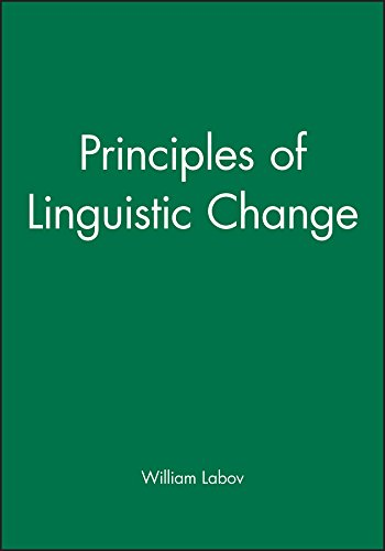Principles of Linguistic Change, 3 Volume Set