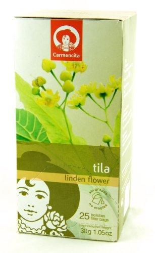 - Spanish Linden Flower Tea (Tila / Tilo) by Carmencita 20 Tea Bags