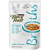 Purina Fancy Feast Fancy Feast Broths for Cats, Classic, With Tuna and Vegetables - (16) 1.4-Ounce Pouches