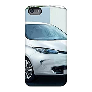 Great Hard Cell-phone Cases For Apple Iphone 6 With Unique Design Colorful Renault Zoe 2013 Skin Top10cases