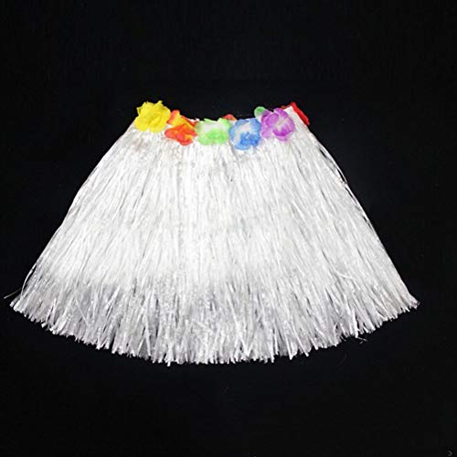 Hawaii Girl - Wholesale 1pcs Plastic Fibers Kid Grass Skirts Hula Skirt Hawaiian Costumes 30cm Girl Dress Up Party - Hawaiian Dogs Trolls Theme Music Reveal 50th Super Silver Dragon -