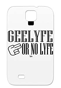 GeeLyfe Hip Hop Tj Gee GLONL Music Black Cover Case For Sumsang Galaxy S4