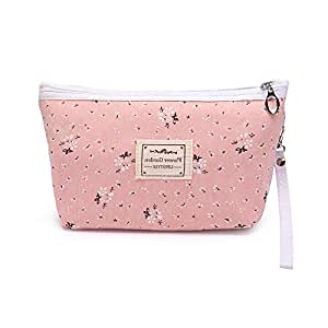Cosmetic Bags Portable Travel Toiletry Pouch Makeup Organizer Clutch Bag with Zipper