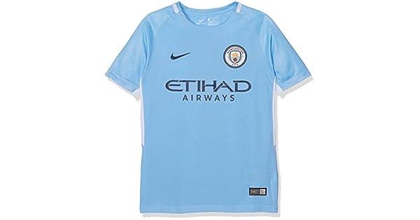 Amazon.com: Nike Youth Breathe Manchester City FC Stadium ...