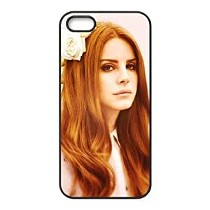 Customiz American Famous Singer Lana Del Rey Back Case for iphone 5 5S JN5S-2485