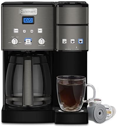 Cuisinart SS-15BKS Coffee Center Maker, 12-Cup, Black