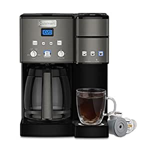 Cuisinart SS-15BKS Coffee Center Maker, Black Stainless