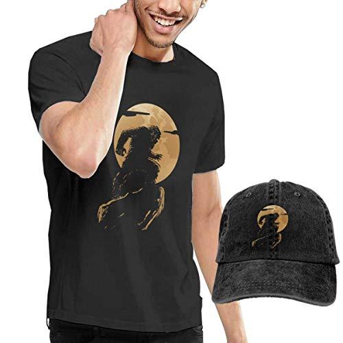 QQWBB Vicious Bigfoot Tshirt Short Sleeve Denim Hat Men's