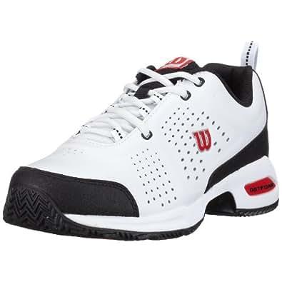 Wilson - Zapatillas de tenis para hombre, color blanco, talla 42 2/3