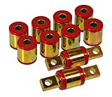 94 accord rear lower control arms - Prothane 8-313 Red Rear Upper and Lower Control Arm Bushing Kit