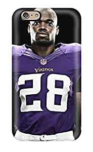 Best First-class Case Cover For Iphone 6 Dual Protection Cover Adrian Peterson Football