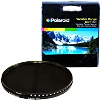 Polaroid Optics 72mm HD Multi-Coated Variable Range (ND3, ND6, ND9, ND16, ND32, ND400) Neutral Density (ND) Fader Filter - 6 Filters in 1!