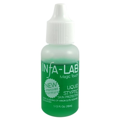 Infa-Lab MAGIC TOUCH Liquid Styptic Nails Stop Bleeding Skin Protector InfaLab