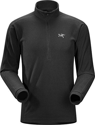 Arc'teryx Men's Delta LT Zip Fleece (Black, Medium)