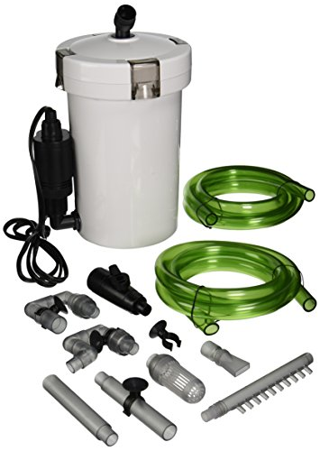 Sunsun Tech'n'Toy HW-603B 106 GPH 3-Stage External Canister Filter ()