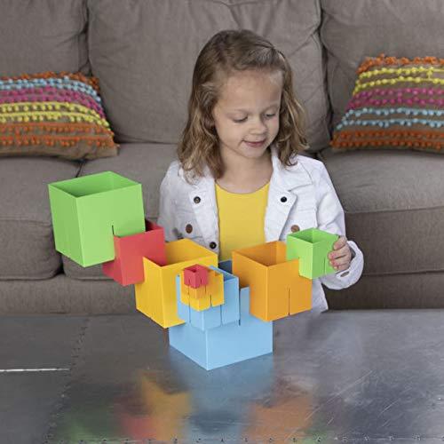 Fat Brain XFBFB0240 Juego de construcci/ón con 10 Cubos Dado Cubes