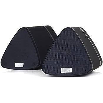 Amazon.com: August MS515B Dual Speaker Portable Bluetooth