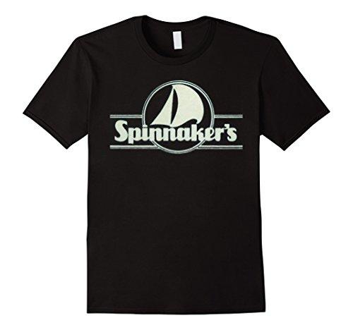 Mens Spinnaker's Restaurant Retro 80s Logo T Shirt 2XL - Durham Malls In