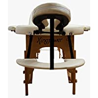 Table de Massage Pro Luxe 2S, pliante Confort, ovale, beige