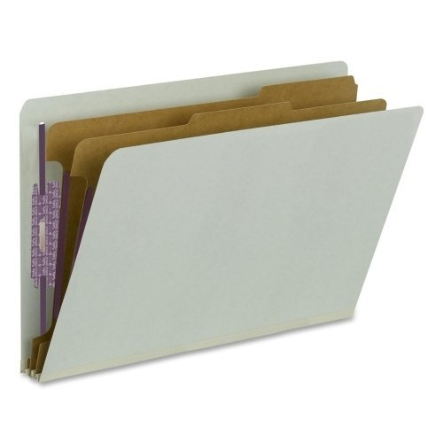 Smead End-Tab Classification Folders w/ Dividers by Smead